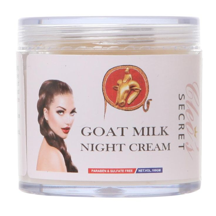 This #GoatMilk based nourishing #NightCream is fortified with with Vit E and replenishes the skin while you sleep.