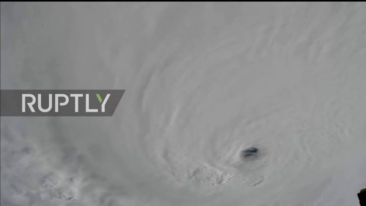 10/03/2016 - Dramatic time-lapse footage from the International Space Station captured the view of Hurricane Matthew, the Atlantic Ocean's most powerful tropical storm in almost a decade, on Monday, as it swirled towards Haiti and Jamaica.  According to U.S. National Hurricane Center in Miami, Matthew was expected to pass east of Jamaica and over the southwestern part Haiti early on Tuesday.