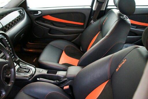 Jaguar interiror by Carbon Motors