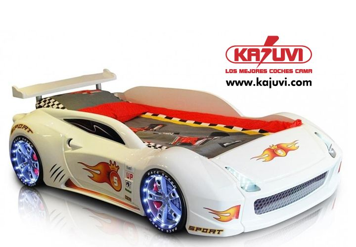 Coche cama modelo king five www.kajuvi.com