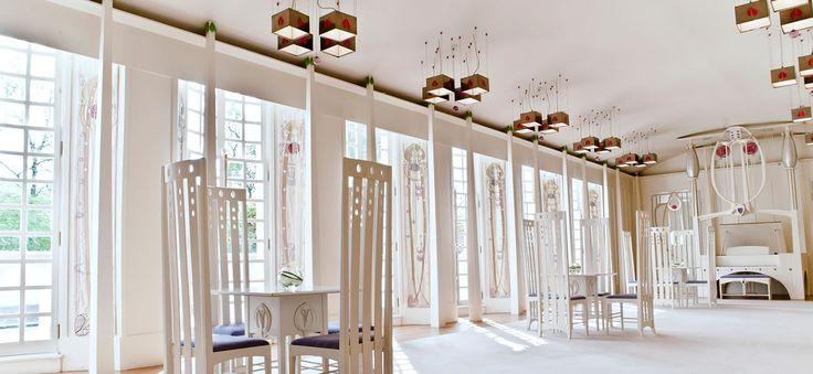 House for an Art Lover 1901 - projekt, wykonanie: 1989-90, Mackintosh