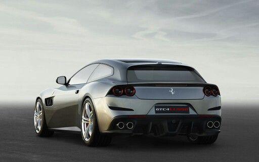 Nuova Ferrari GTC4 Lusso - trazione integrale, ruote posteriori sterzanti, motore V12 da 690 CV e 700 nm di coppia #Ferrari #GTC4Lusso