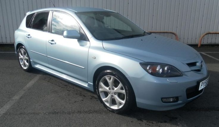 MAZDA 3 1.6 SPORT 5d 105 BHP 2009  CASH PRICE: £3,995  BODY TYPE: Hatchback MILEAGE: 85707 FUEL TYPE: Petrol ENGINE: 1.6 YEAR: 2008 TRANSMISSION: Manual DRIVE: FWD EXTERIOR COLOUR: Blue VIN: PY58DOU