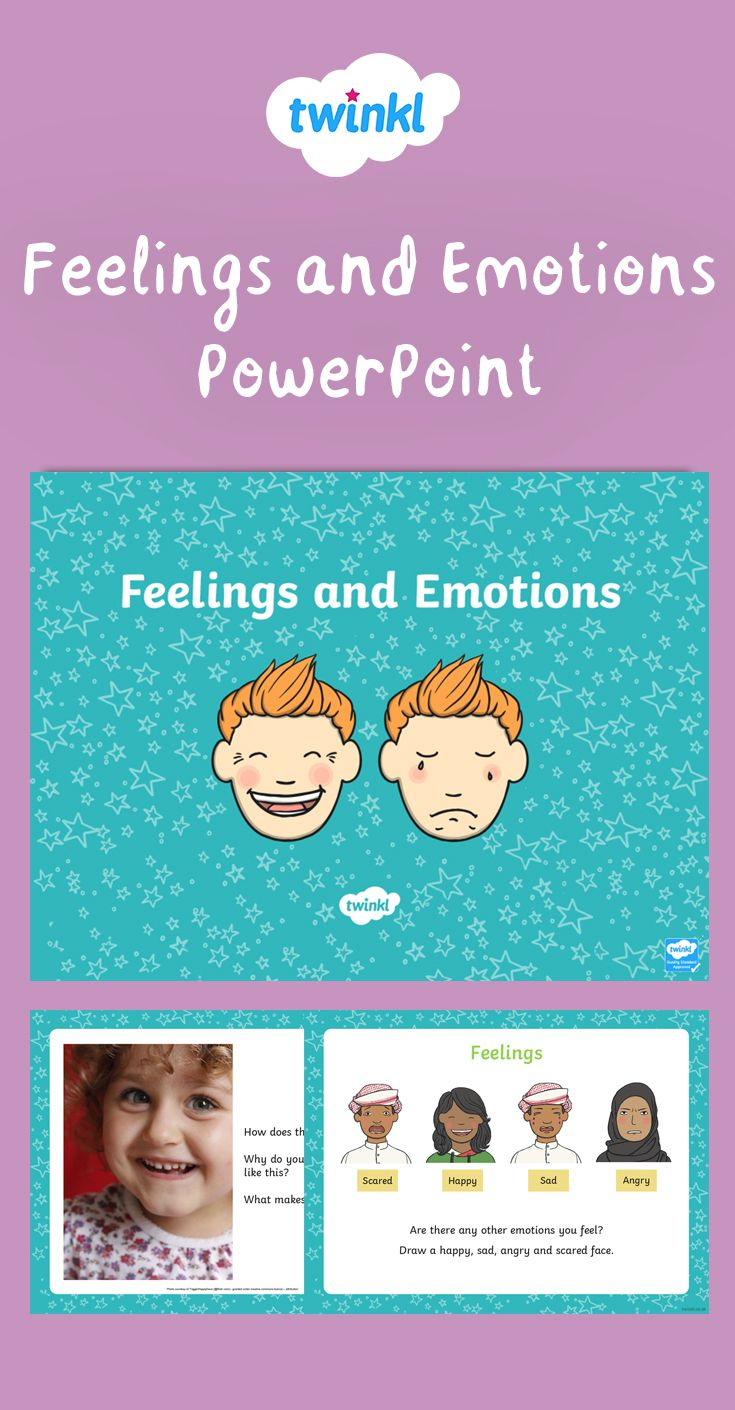 Teacher We Must Teach Emotional >> Feelings And Emotions Powerpoint Great For Whole Class Discussions