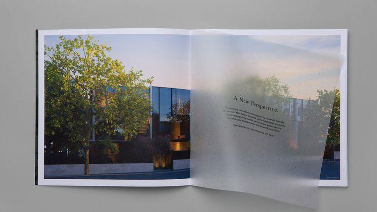 Brochure design for property development Abria