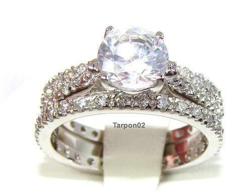 diamonique engagement rings qvc 32 - Diamonique Wedding Rings