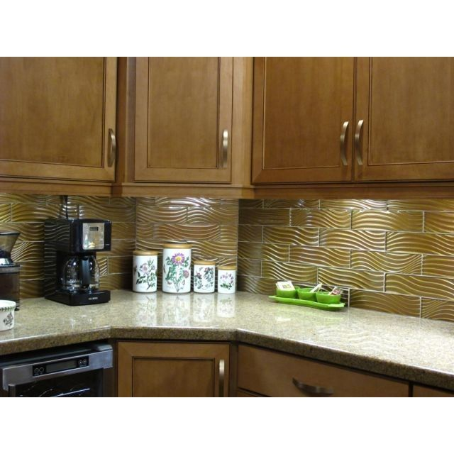 Earth Tones For Cabinets And Backsplash Tiles