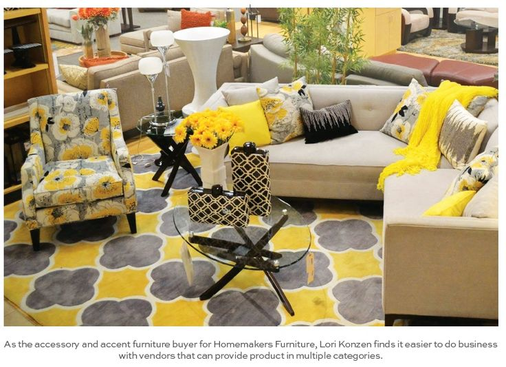 SPECIAL REPORT: FURNITURE STORES Home Accessories Are Gaining More Space On  The Sales Floors Of