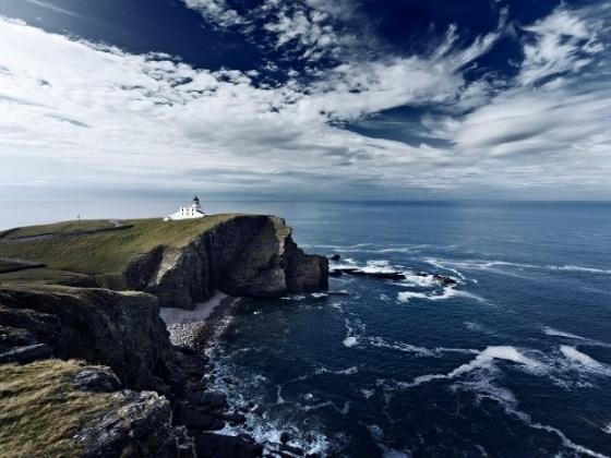 Always fascinating British coast.