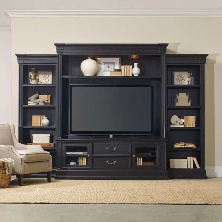 Clermont Entertainment Wall | Hooker Furniture | Home Gallery Stores