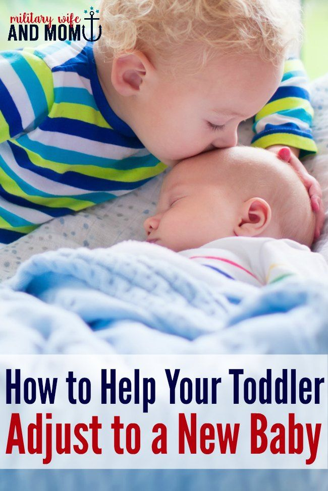 Amazing tips for how to help toddler prepare for new baby. This made a huge difference for our 2-year-old and newborn transition.