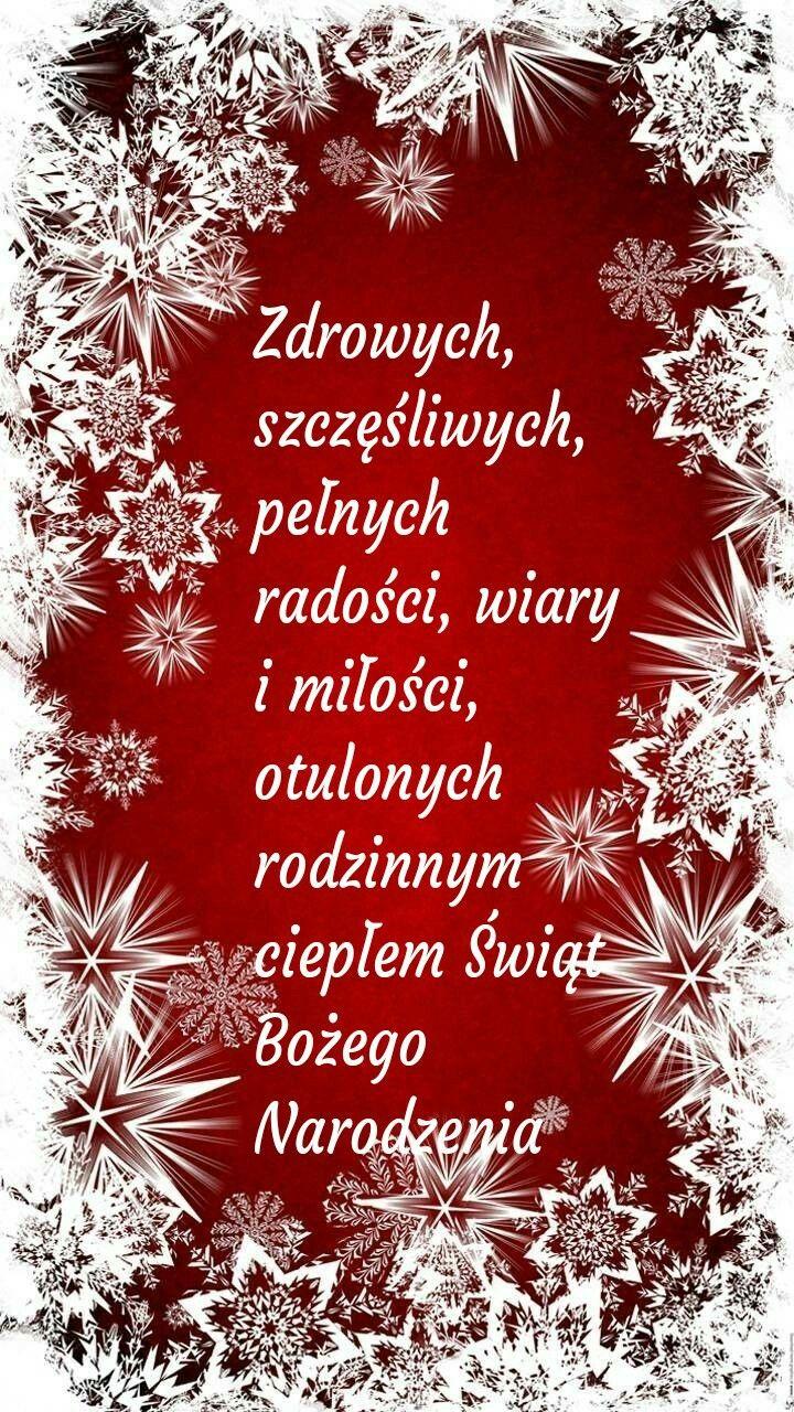 Kartka Swiateczna Boze Narodzenie Zyczenia