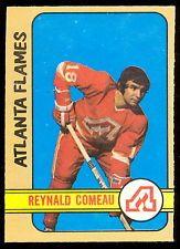 1972 73 OPC O PEE CHEE HOCKEY #239 REYNALD COMEAU NM ATLANTA FLAMES CANADIENS