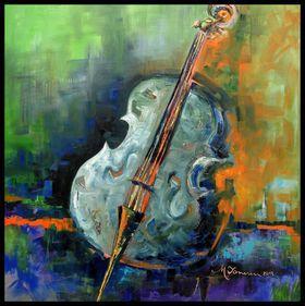 Cello by Mihaela Ionescu