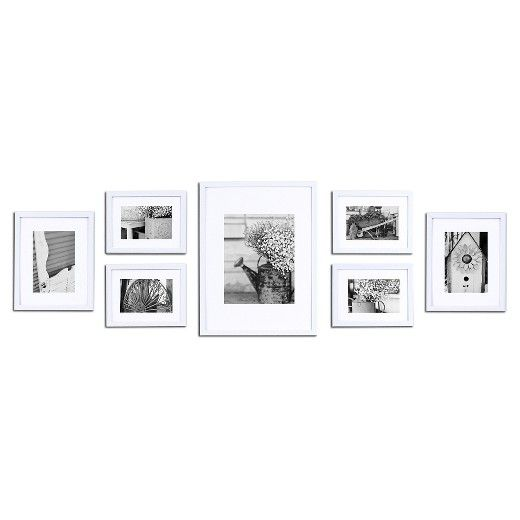 Gallery Solutions 7 Piece Wall Frame Set : Target