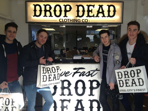 The guys in DON BROCO popped by our Warehouse