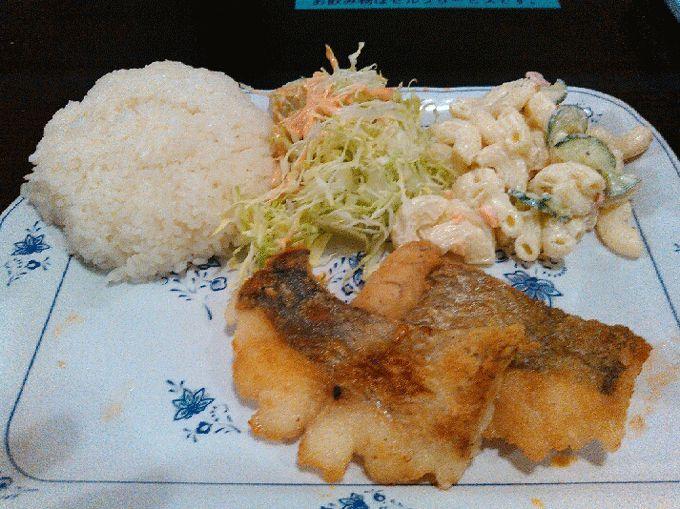 軽食の店ルビー宜野湾店の白身魚のバター焼き