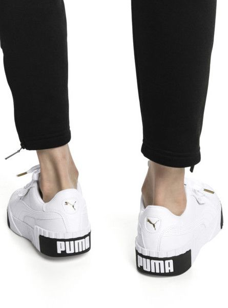 new style 26a22 35a58 Puma Cali White and Black Noire et blanche édition 2018 sneakers blanches