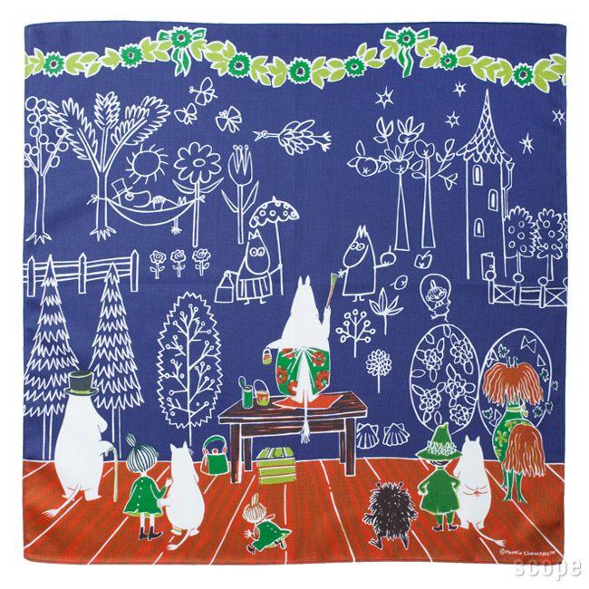 What a beautiful moomin mural