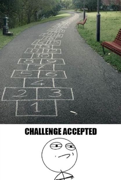 """This would be fun to do, just to watch and see how many people decide """"Challenge Accepted"""" http://justgetideas.com/best-april-fools-pranks-and-jokes/"""