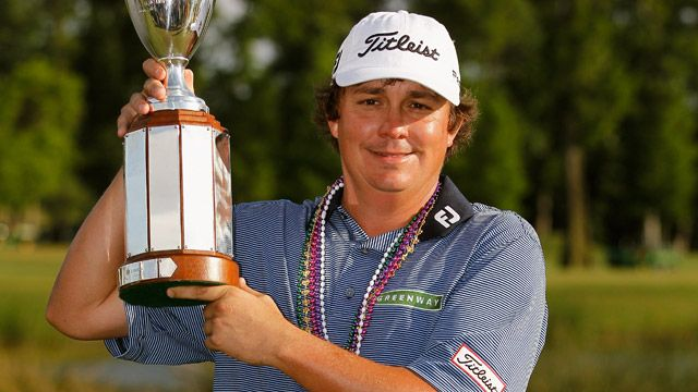 Jason Dufner at the Zurich Classic