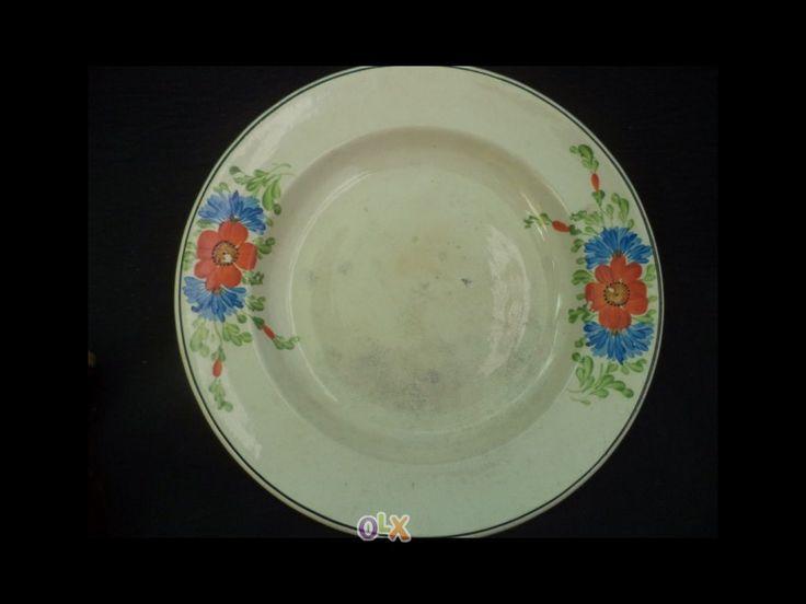 Sacavem - gilman - prato flores campestres - c carimbo e gravação em relevo na pasta invulgar