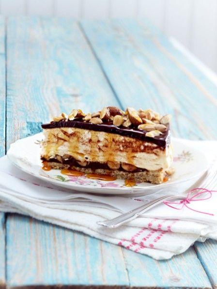 Cheesecake mit Erdnussbutter und Schokolade <3 ZUM WAHNSINNS-REZEPT >>>