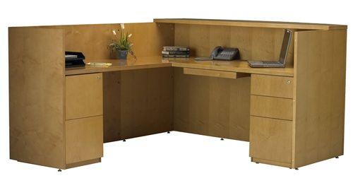 VQV Discount Office Furniture - Reception Desk Mayline Luminary, $2454,96