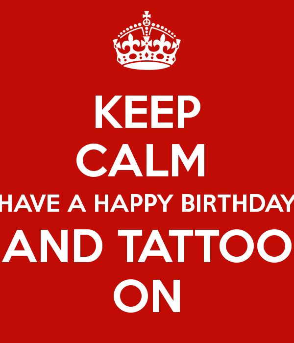 Best 25+ Happy Birthday Tattoo Ideas On Pinterest
