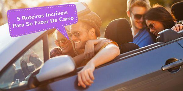 5 Roteiros Incríveis Para Se Fazer De Carro - Mega Roteiros. Dicas dos melhores destinos do mundo Para aqueles que amam viajar de carro, o Mega Roteiros e a Rentcars.com, agência de viagens online (OTA) especializada em locação de veículos, listaram 5 rotas dos sonhos para inspirar a sua road trip. Junte os amigos, a família ou vá sozinho, se preferir. Separe um par de óculos escuros, baixe u...  Leia mais em: http://megaroteiros.com.br/5-roteiros-incriveis-para-se