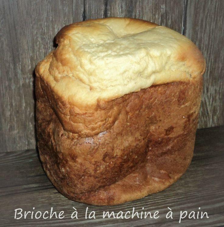brioche à la crème fraiche en machine à pain