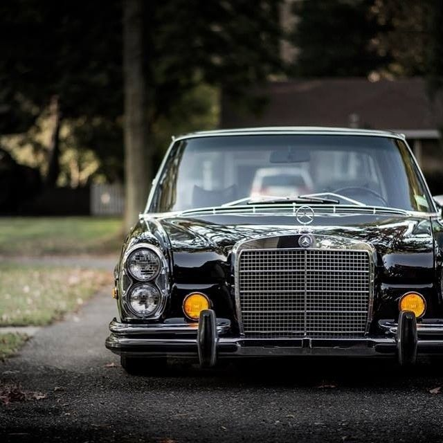 What a beautiful Mercedes-Benz 280 SEL? Photo by @squeakythinger (by…