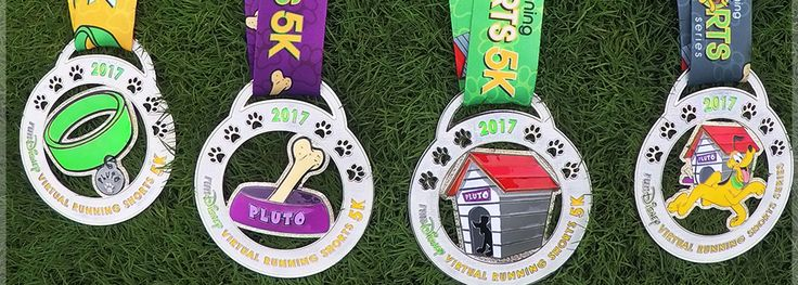 Hot diggetydog Grab your pet and get set for a summer of magical 5K runs Plutos the honorary host for this years Virtual Running Shorts Series and hes inviting everyone human and canine to join in on a summer of magical runs on a course of your choosing Stroll walk or jog on a track around the neighborhood or even through the dog park Its your chance to experience all the excitement of a magical Disney run right in your own backyard This year Plutos celebrating with three individual ...