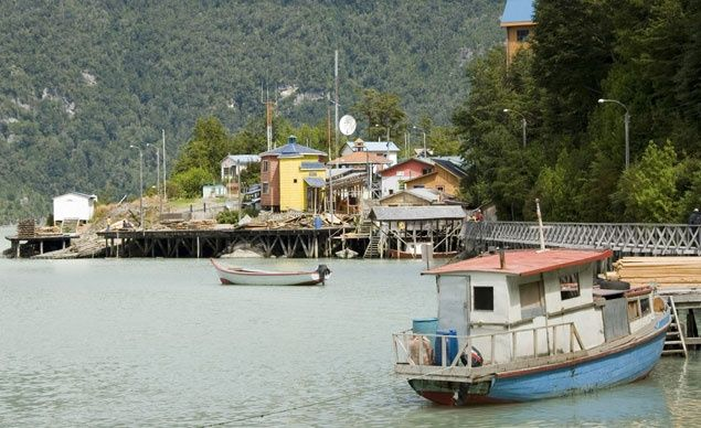 Caleta Tortel is the Venice of Chile%u2014if Venice had stilt houses and wooden walkways instead of ornate palazzi and stone bridges. (From: 16 Most Beautiful Towns in the World)