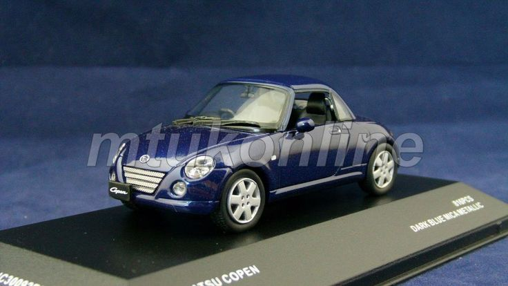 KYOSHO 2007 | DAIHATSU COPEN 2004 | 1/43 | J-COLLECTION LIMITED EDITION 816PCS