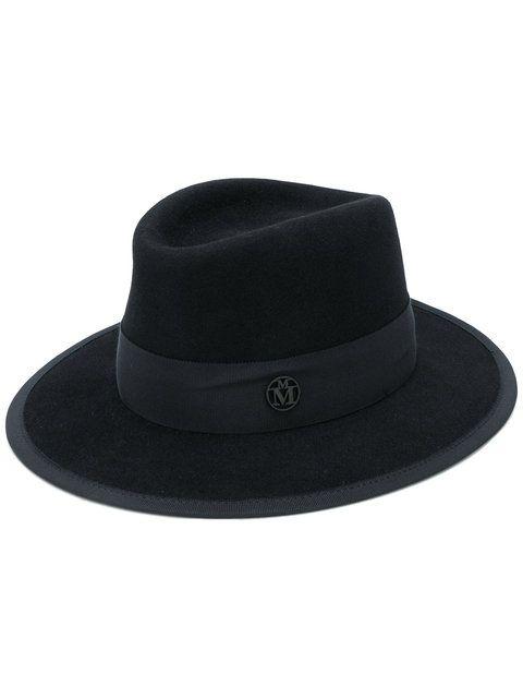 Maison Michel Fur Felt Hat  - Farfetch