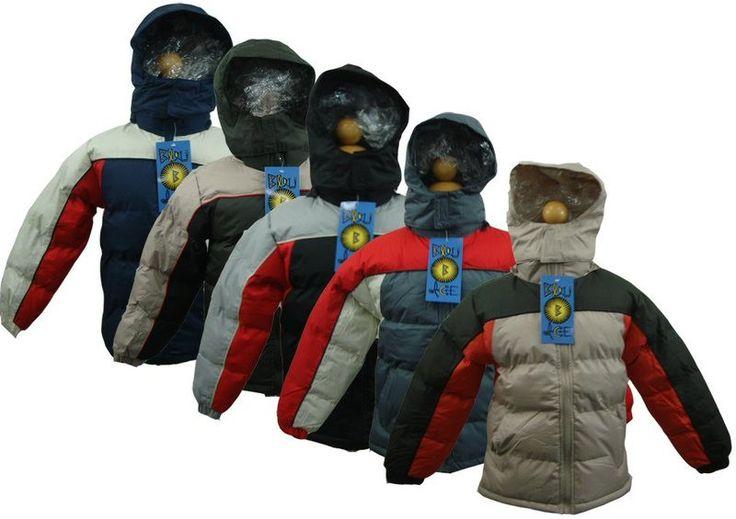 Bulk Boys Winter Jackets Case Pack 36