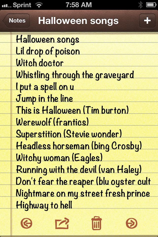 Halloween Party Music - I'll have to give these a listen...