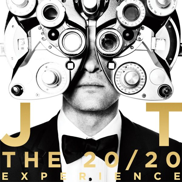 """Justin Timberlake """"The 20/20 Experience"""" album art cover"""