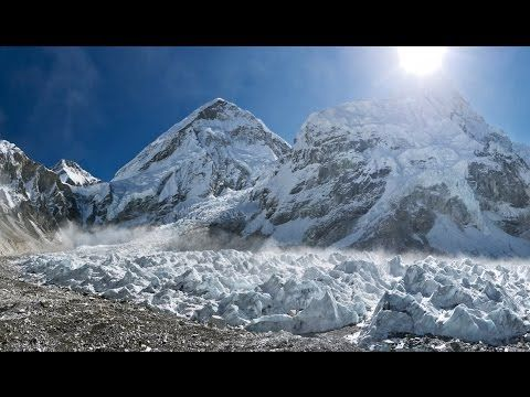 Explore the vanishing glaciers of the Himalayas whose rivers support one fifth of the world's population.   Vanishing glaciers | Royal Society Summer Science Exhibition 2015  http://sse.royalsociety.org/2015/vanishing-glaciers/