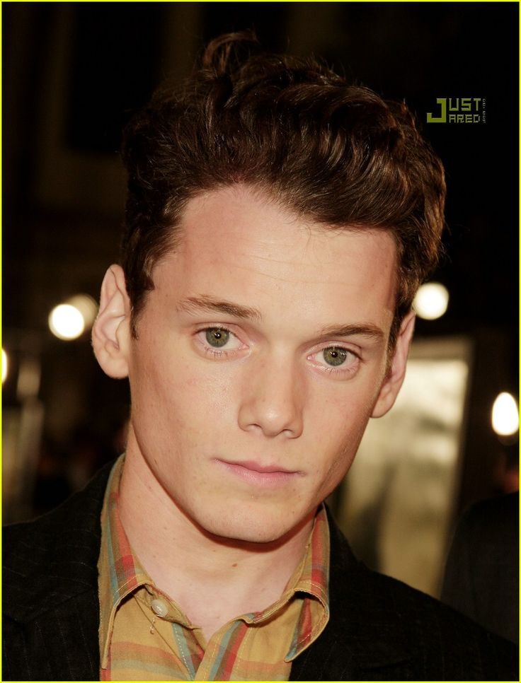 Anton Yelchin - could be a young Michael Fassbender, dammit.