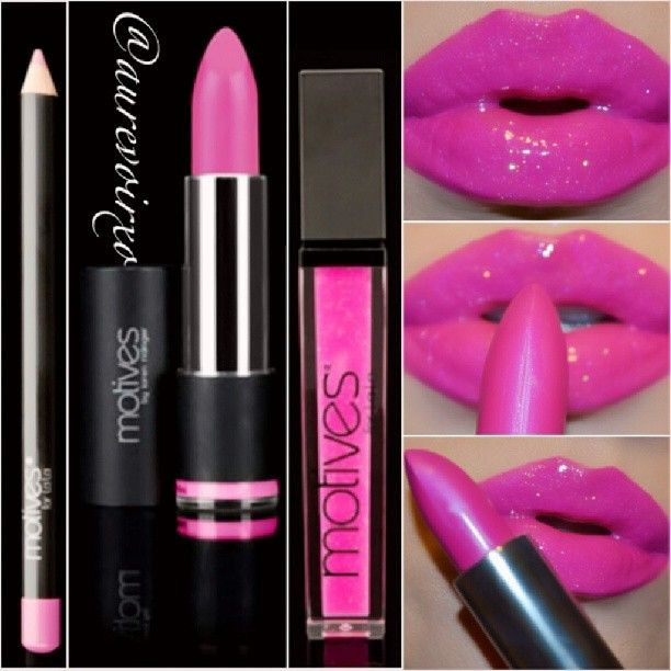 Black And Pink Kiss Makeup: 54 Best Sweet Lips ! Images On Pinterest