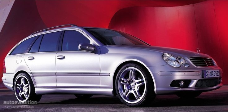 MERCEDES BENZ C 55 AMG T-Modell (S203)