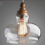 Vintage+Style+Wooden+Crystal+Pendant+Lights+for+Dining+Room/Living+Room/Hallway+(Dia+24cm)+–+GBP+£+105.35