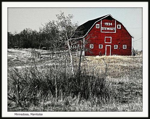 Barn near Minnedosa by Across & Down, via Flickr