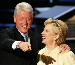 Bill and Hilary Clinton.Pin provided by Elbow Beach Cycles http://www.elbowbeachcycles.com
