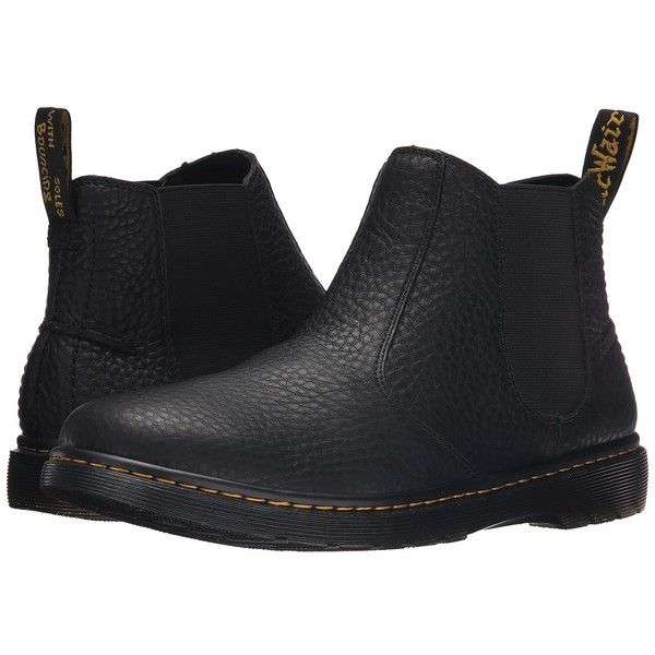 Dr. Martens Lyme Chelsea Boot Men's Pull-on Boots ($120) ❤ liked on Polyvore featuring men's fashion, men's shoes and men's boots