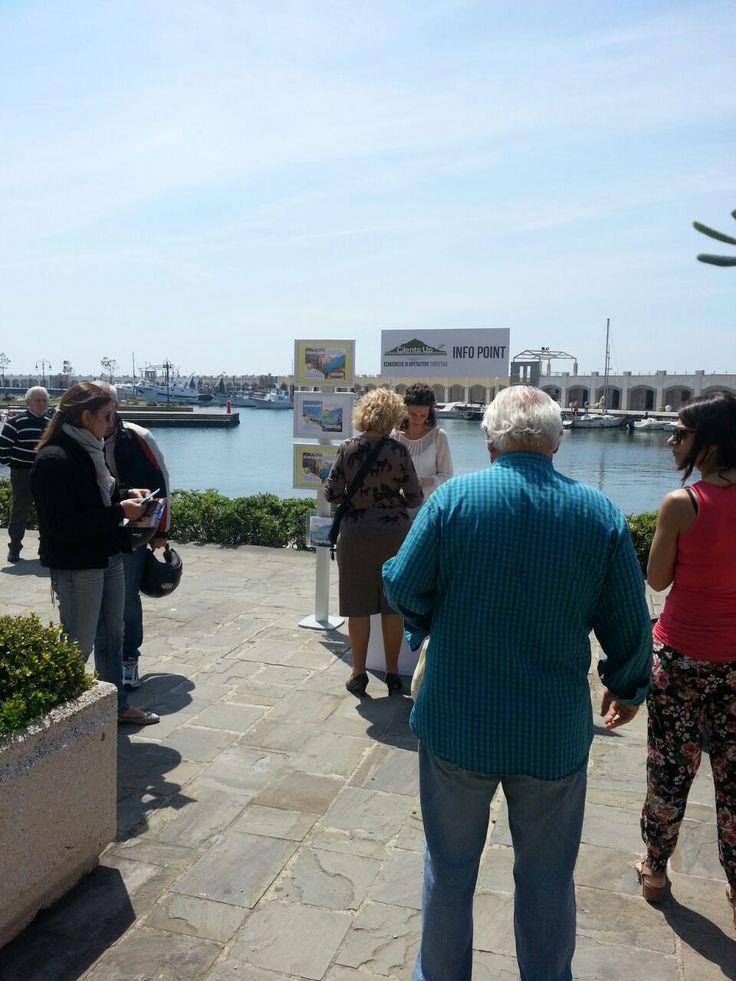 Info Point Cilento Up al porto di Acciaroli, Salerno