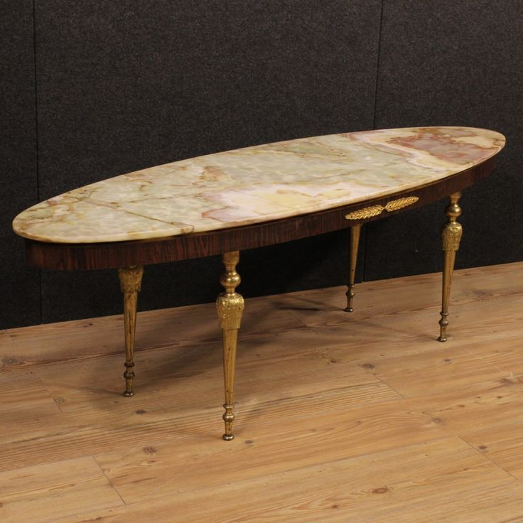 690€ French design coffee table with onyx top. Visit our website www.parino.it #antiques #antiquariato #furniture #antiquities #antiquario #coffeetable #marble #table #tavolo #golden #gold #decorative #interiordesign #homedecoration #antiqueshop #antiquestore