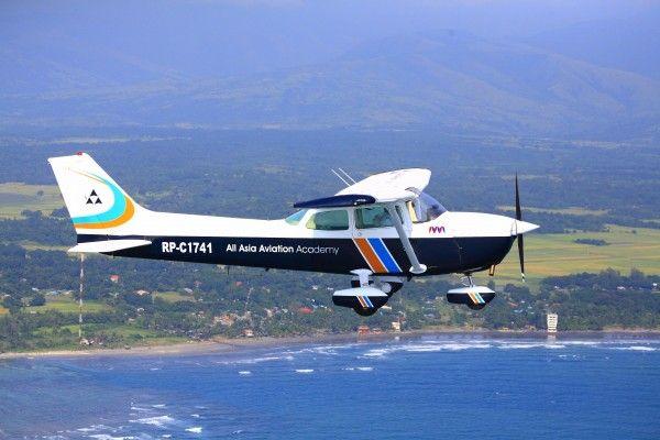 Aviation School | AAA Academy | Lapangan latihan penerbangan | Cessna | percontohan sekolah pelatihan pen